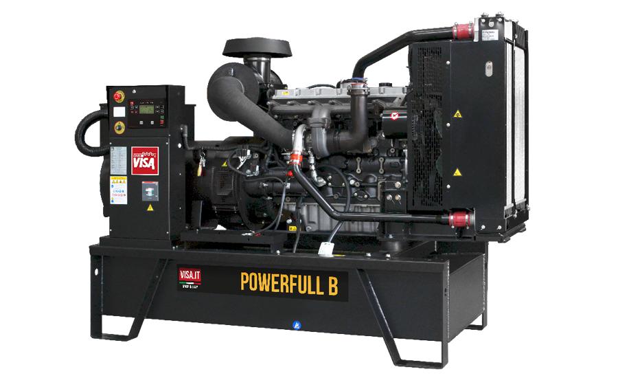 Дизельный генератор (электростанция) Onis Visa F250