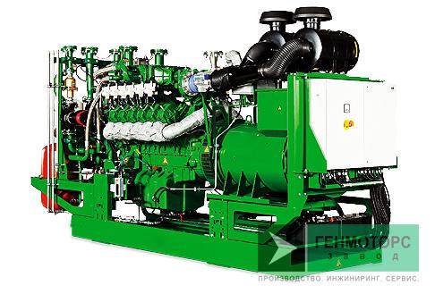 Газопоршневая электростанция (ГПУ) 2G Avus 1500c