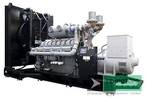 Дизельный генератор (электростанция) Gesan DPA 820E