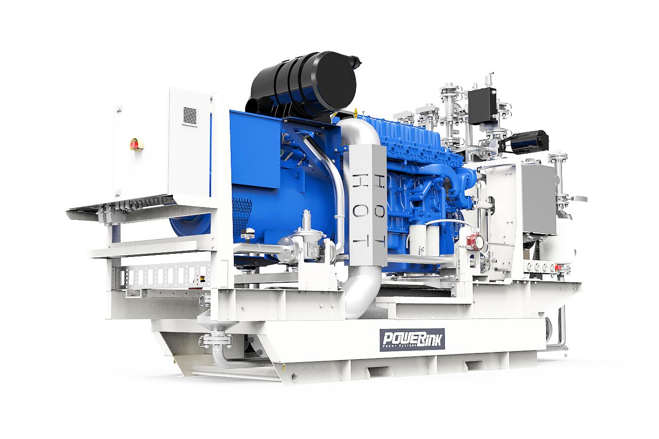 Газопоршневая электростанция (ГПУ) PowerLink GXE250NG