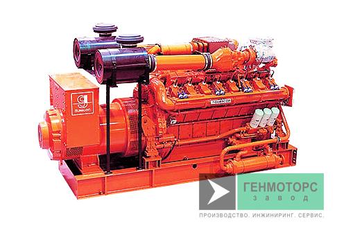Газопоршневая электростанция (ГПУ) Guascor HGM240