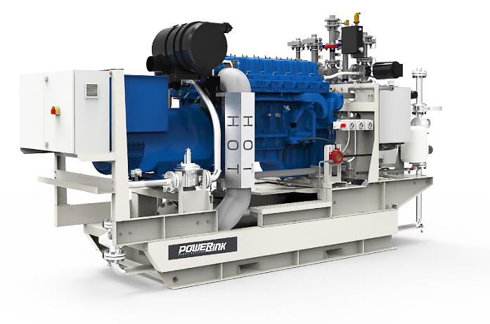 Газопоршневая электростанция (ГПУ) PowerLink GXC100-NG